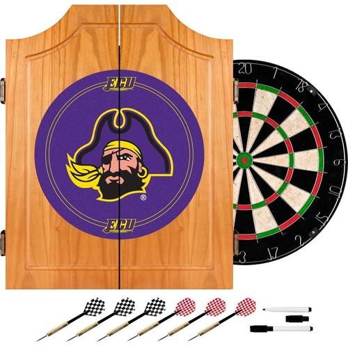Trademark Games East Carolina Pirates Dart Cabinet