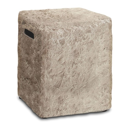Real Flame Antiqued Stone 20lbTank Cover