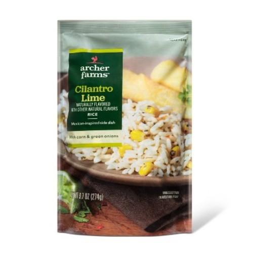 Cilantro Lime Rice 9.7oz - Archer Farms