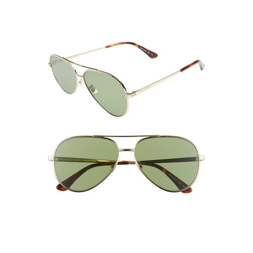 SAINT LAURENT Classic 11 Zero 60Mm Aviator Sunglasses