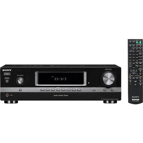 Sony - 200W 2.0-Ch. Stereo Receiver - Black