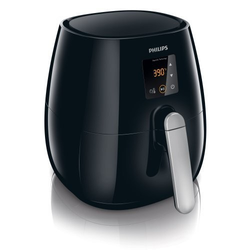 Philips Digital Airfryer, The Original Airfryer, Fry Healthy with 75% Less Fat, Black HD9230/26 [Black,