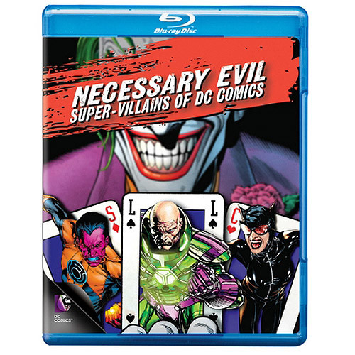 Necessary Evil: Villains of DC Comics [Blu-ray]