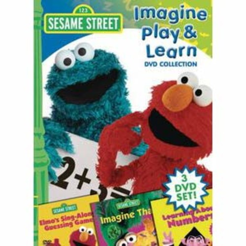 Sesame Street: Imagine Play and Learn DVD Collection