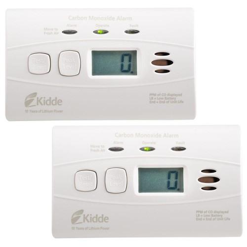 Kidde Worry Free 10-Year Battery Operated Digital Carbon Monoxide Alarm