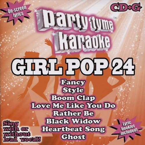PARTY TYME KARAOKE: GIRL POP 24 / VARIOUS