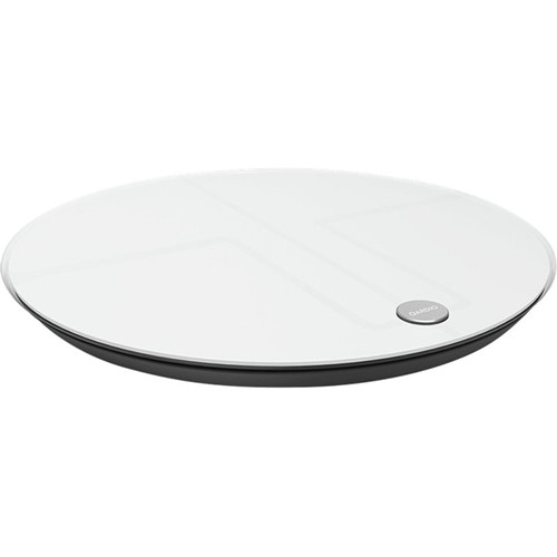 Qardio - Body Fat Monitor Scale - Arctic White