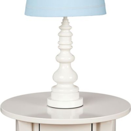 Lolli Living by Living Textiles Baby Lamp Base in White Spindle