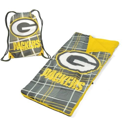 Green Bay Packers Nap Mat with Drawstring Bag