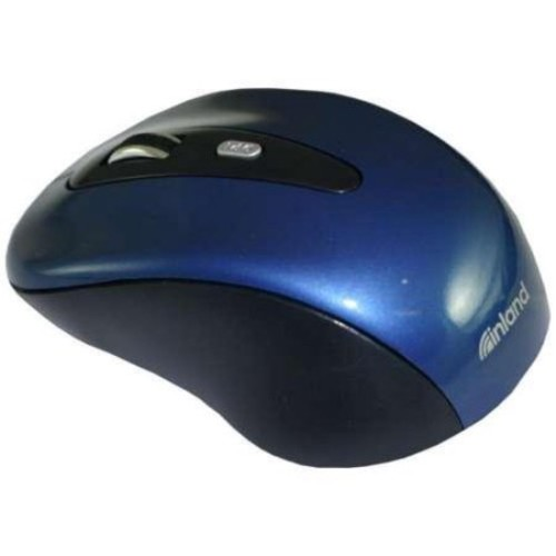 ProHT 2.4GHz Wireless 1600DPI Optical Mouse with Nano Receiver, Blue