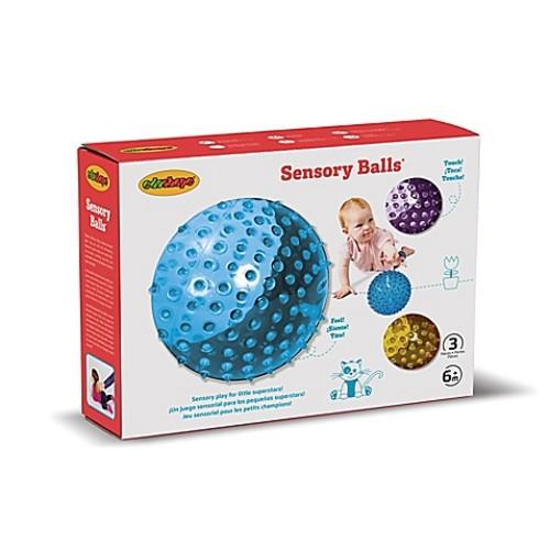 Edushape 3-Piece Sensory Balls Set