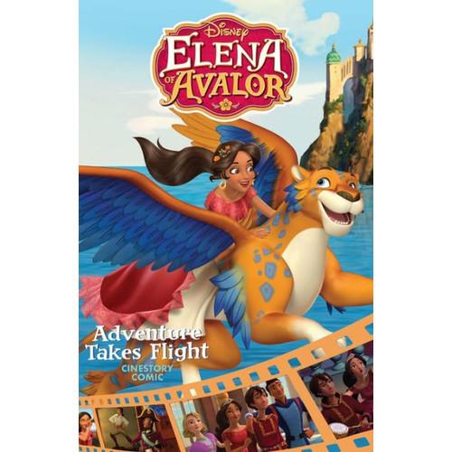 Disney Elena of Avalor: Adventure Takes Flight Cinestory Comic