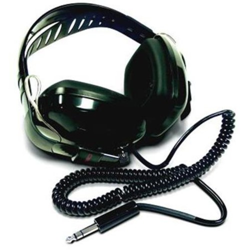Fisher Hobby Stereo Deluxe Headphones for All Metal Detectors, 1/4 Inch Plug