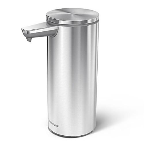 simplehuman Sensor Soap Pump, 9 Oz, Brushed Steel