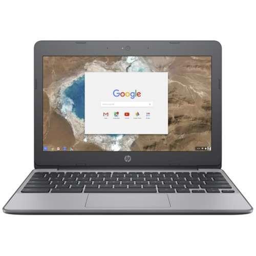 HP Chromebook 11-v010nr - Intel Celeron N3060 Dual-Core Processor, 1.6GHz, Chrome OS, 4GB LPDDR3, 16GB eMMC, 11.6