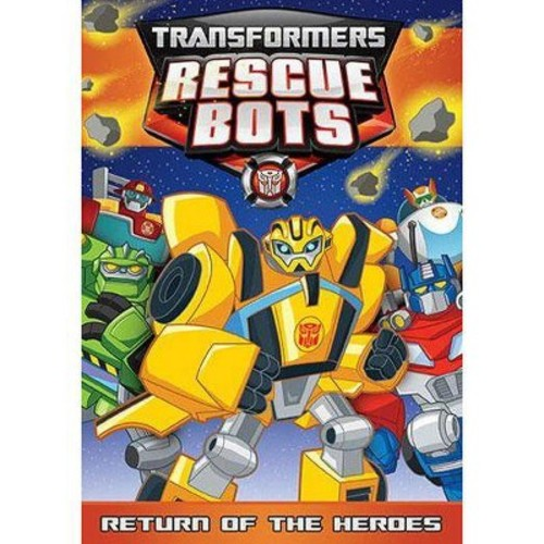 Transformers Rescue Bots: Bots: Return Of The Heroes (DVD)