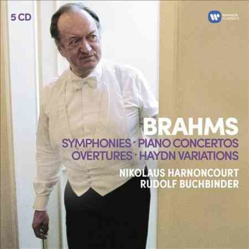 Harnoncourt Baroque Ensemble - Brahms: Symphonies, Overtures; Haydn: Variations, Piano Concertos