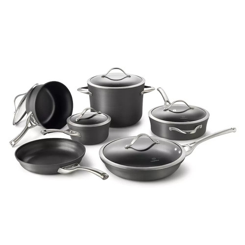 Calphalon Contemporary 11-pc. Nonstick Cookware Set + BONUSES