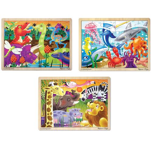 Melissa & Doug 3-pk. Jigsaw Puzzles
