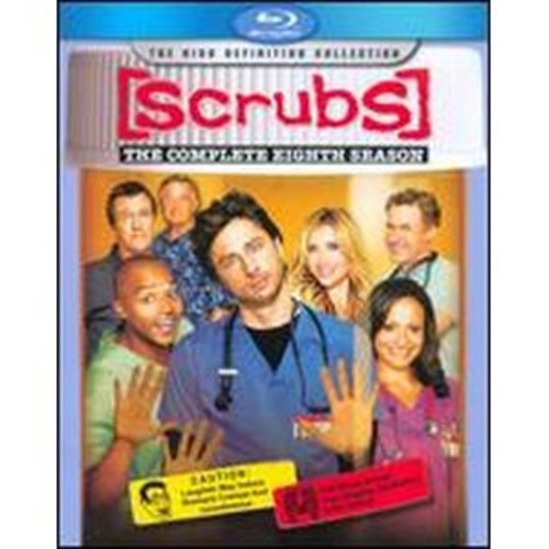 Scrubs: The Complete Eighth Season [2 Discs] [Blu-ray]
