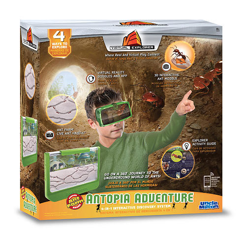 Uncle Milton Virtual Explorer Antopia Adventure Pack