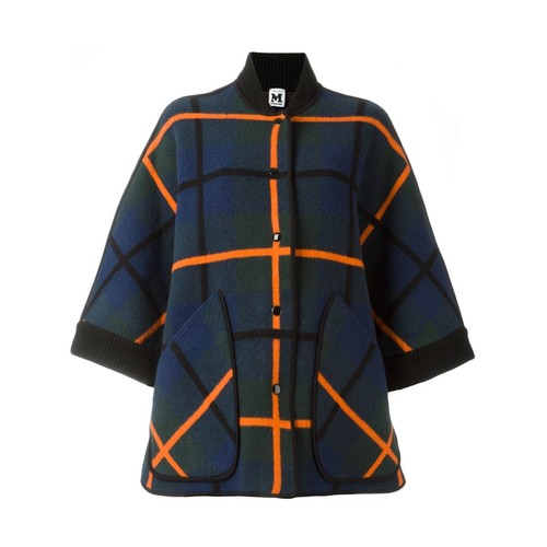 M MISSONI Checked Oversized Coat
