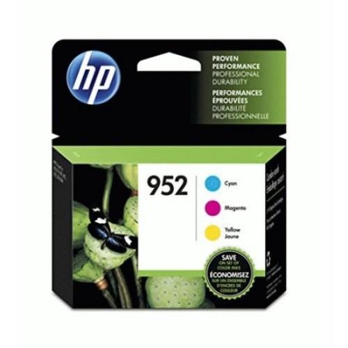 HP 952 (N9K27AN) Cyan, Magenta, Yellow Original Ink Cartridges, 3/Pk