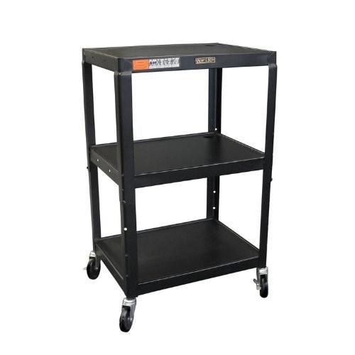 Black Steel Utility Cart