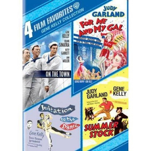 4 Film Favorites: Gene Kelly Collection (DVD) [4 Film Favorites: Gene Kelly Collection DVD]