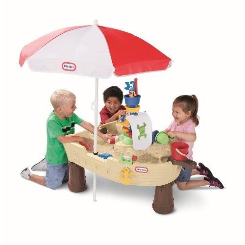 Little Tikes Deluxe Anchors Away Pirate Ship with Umbrella