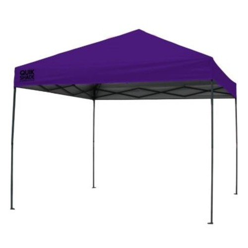 Quik Shade Expedition 100 Team Colors 10 ft. x 10 ft. Purple Instant Canopy