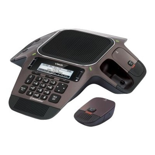 Vtech Communications ErisStation VCS754 - Conference VoIP phone with caller ID - SIP - 3 lines - gunmetal (VCS754)