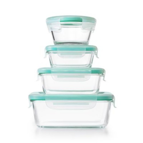 OXO Good Grips Smart Seal 12-Piece Container Set in Clear/Blue
