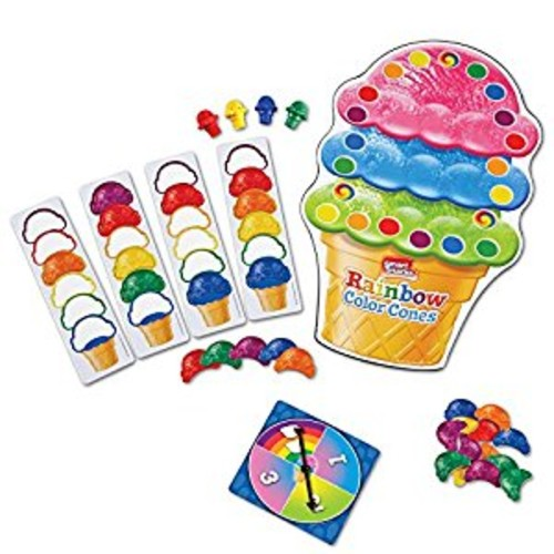 Learning Resources Smart Snacks Rainbow Color Cones Game