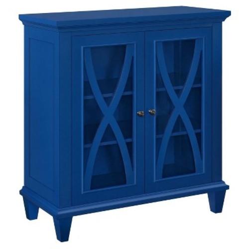 Altra Furniture Ellington Navy Storage Cabinet