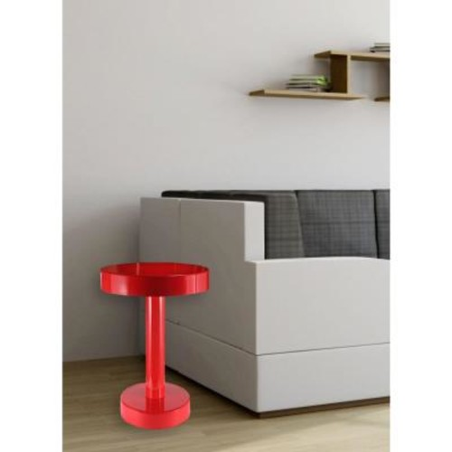 Kenroy Home Weldon Red End Table