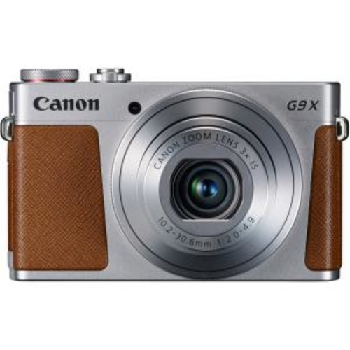PowerShot G9 X Digital Camera (Silver)