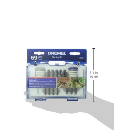Dremel 688-01 69 Piece Rotary Tool Cut-Off Wheel Set [Pack of 1]