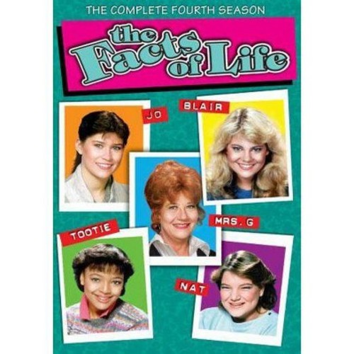 The Facts of Life: The Complete Fourth Season [4 Discs]