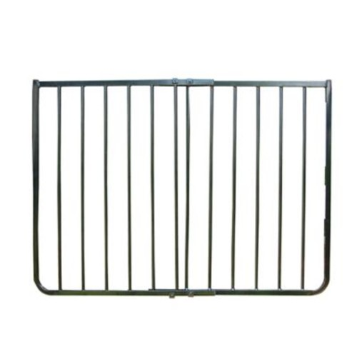 Cardinal Gates Stairway Special Aluminum Safety Gate in Black