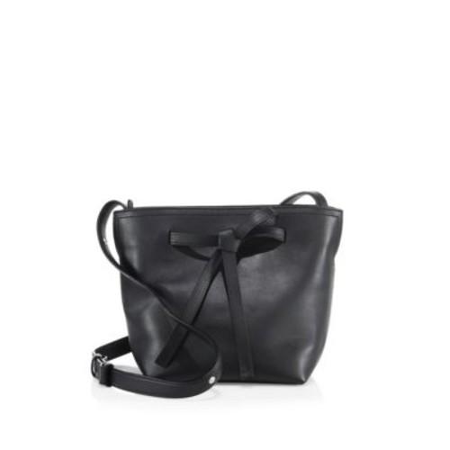 Maison Margiela - Mini Leather Drawstring Bucket Bag