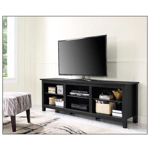 Walker Edison - TV Stand for Most Flat-Panel TVs Up to 70