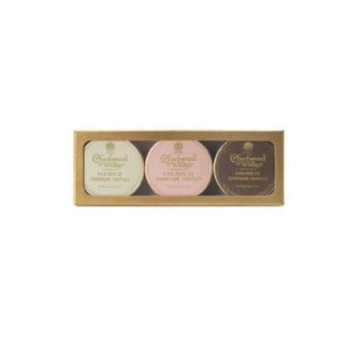 Charbonnel et Walker - Dark, Milk and Pink Marc de Champagne Gold Gift Set