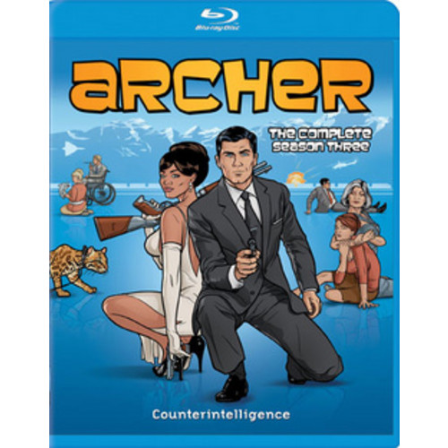 Archer: The Complete Season Three (Blu-ray) (Widescreen)
