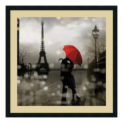 Amanti Art 'Paris Romance' by Kate Carrigan Framed Graphic Art