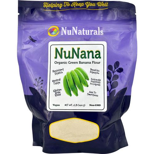 NuNaturals NuNana Organic Green Banana Flour -- 1 lb