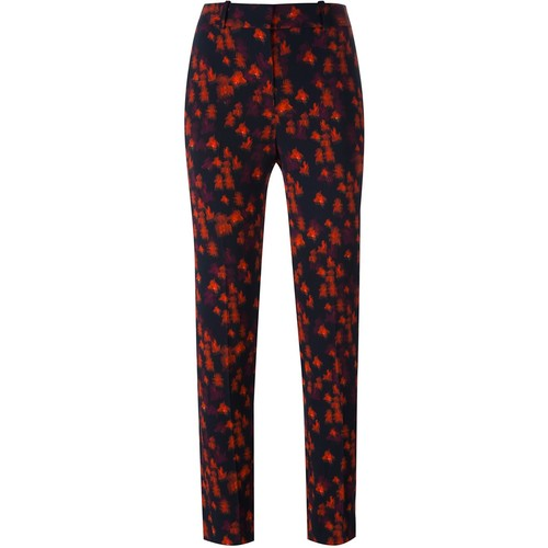 GIVENCHY Abstract Floral Print Trousers