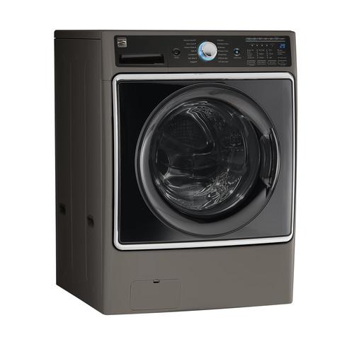 Kenmore Elite 41983 Smart 5.2 cu ft. Front Load Washer w/ Accela Wash Technology - Silver
