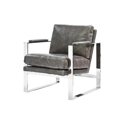 Corbin Accent Chair, Gray
