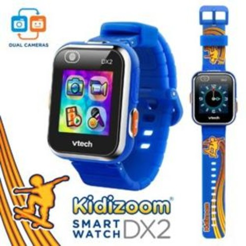 VTech Kidizoom Smartwatch DX2 Special Edition VTech Kidizoom Smartwatch DX2 - Special Edition - Skateboard Swoosh with Bonus Royal Blue Wristband